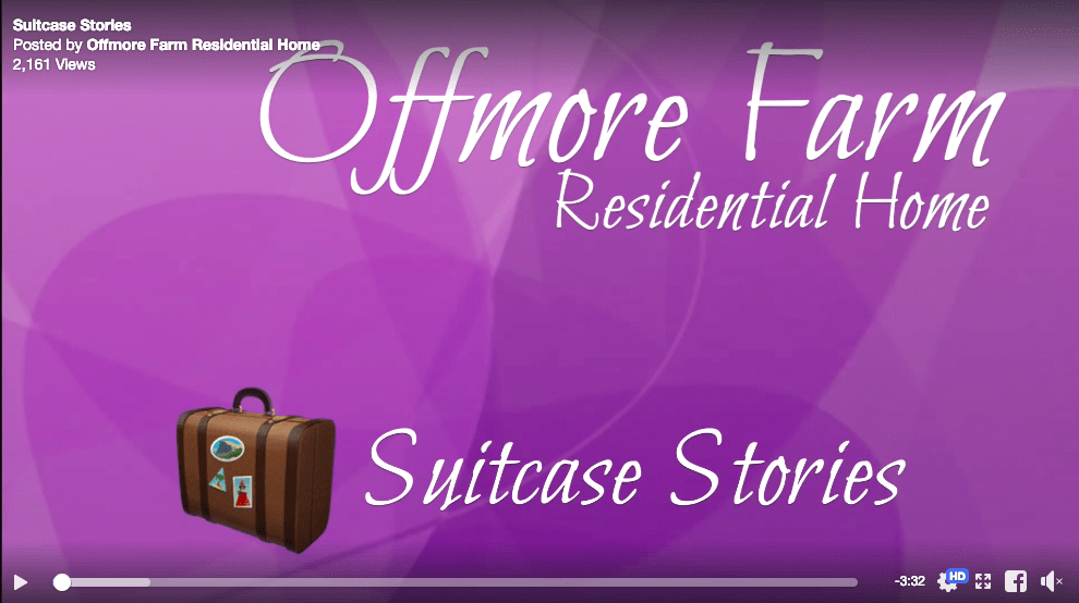 Offmore Farm Residential Home Suitcase Stories
